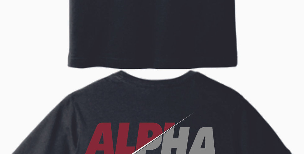 Alpha Evolution Black Soft Heather T-Shirt