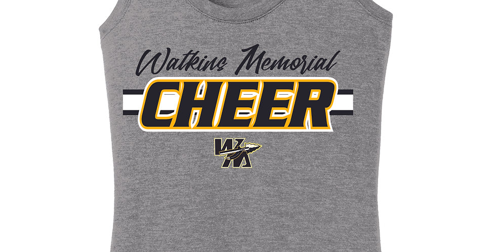 Watkins Cheer Grey Women's Tank