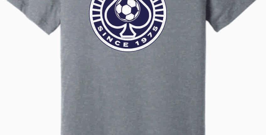 Granville Soccer Grey Soft Cotton T Shirt