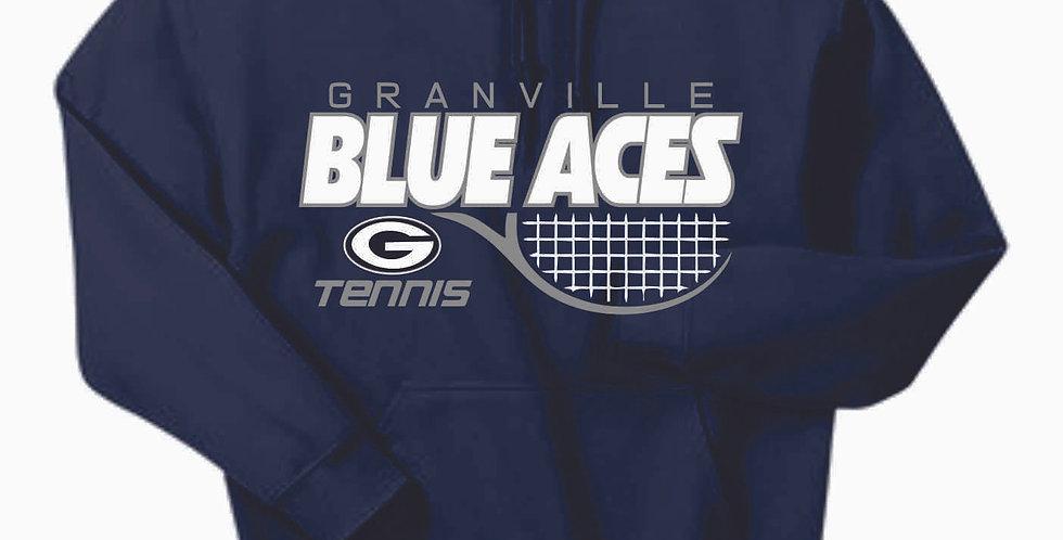 Granville Tennis Navy Cotton Hoody