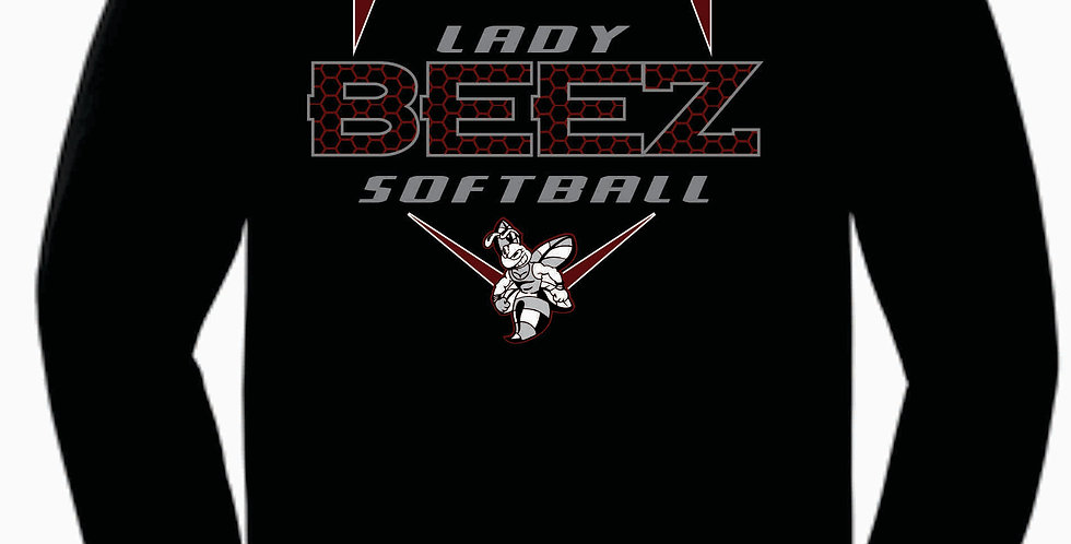 Lady Beez Gildan Cotton Black Longsleeve