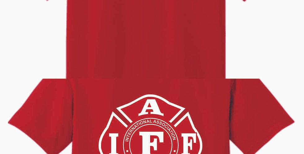Berlin Township Fire Red Cotton T Shirt