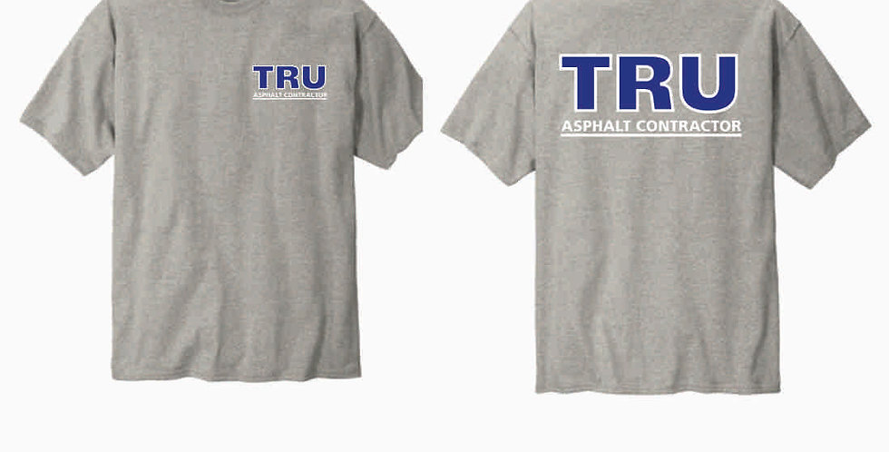 Tru Asphalt Champion Cotton T Shirt