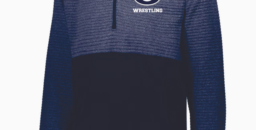 Granville Wrestling 3D Navy Pullover