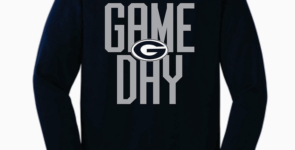 Blue Aces Navy Game Day Cotton Longsleeve T-Shirt
