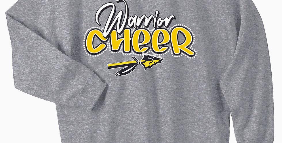 SWLYFC Cheer Grey Cotton Crew