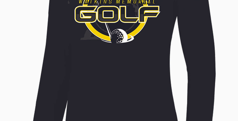 Watkins Golf Black Dri Fit Longsleeve