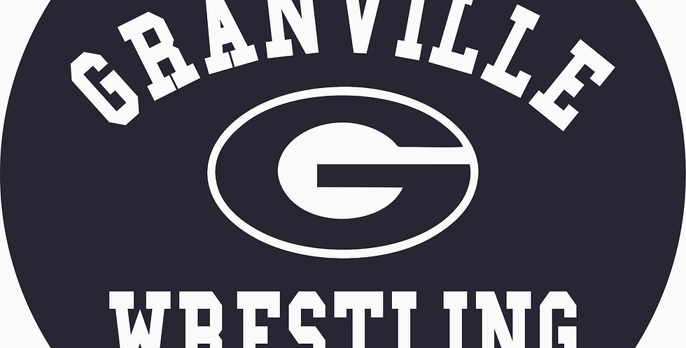 Granville Wrestling Yard Sign