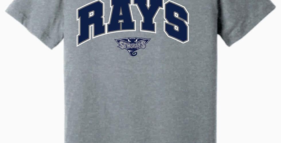Rays Grey T shirt