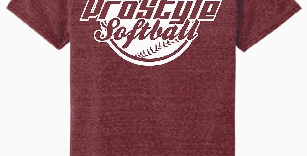 Newark Youth Softball Prostyle  Maroon Soft T Shirt
