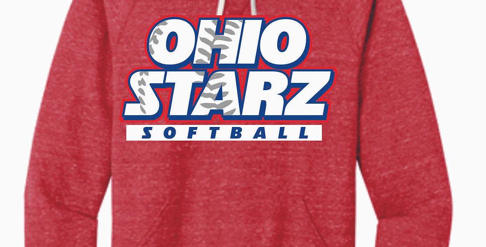 Ohio Starz Red Snow Heather Hood