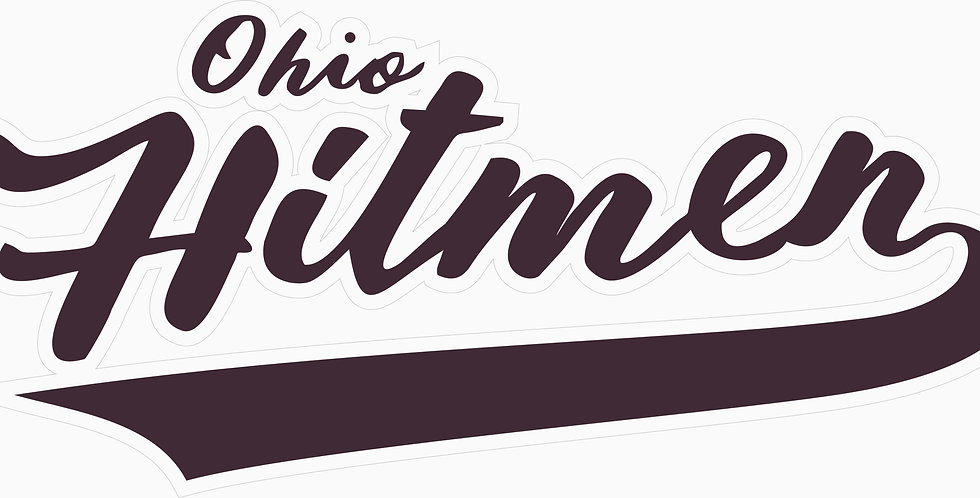 Ohio Hitmen Window Decal