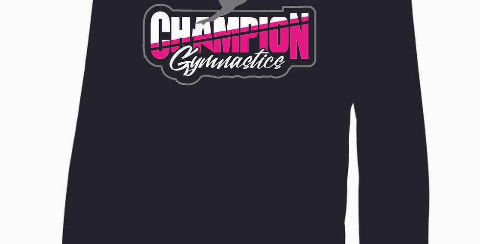 Champion Gymnastics Black Poly Hood