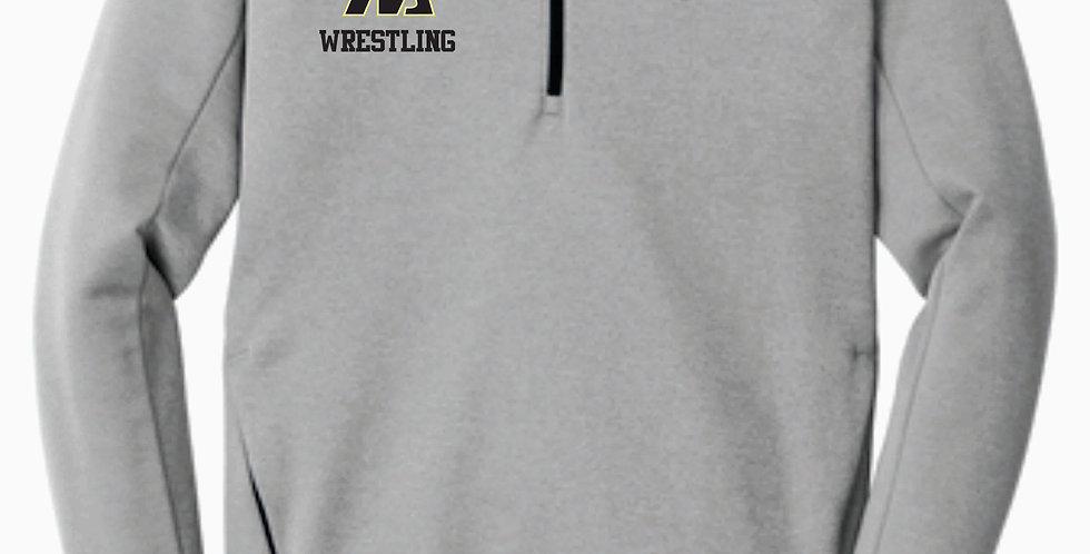 Watkins Youth Wrestling Nike 1/4 Zip Grey
