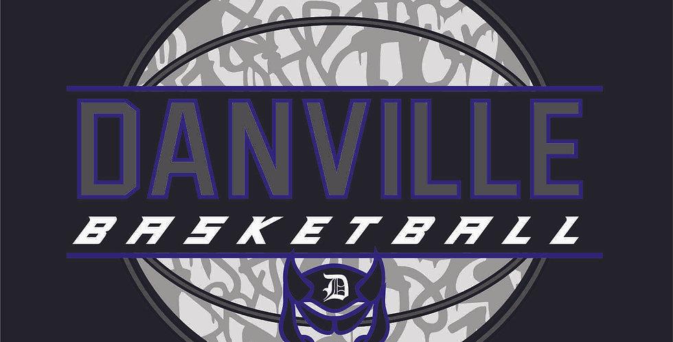 Danville Basketball Sublimated Blanket