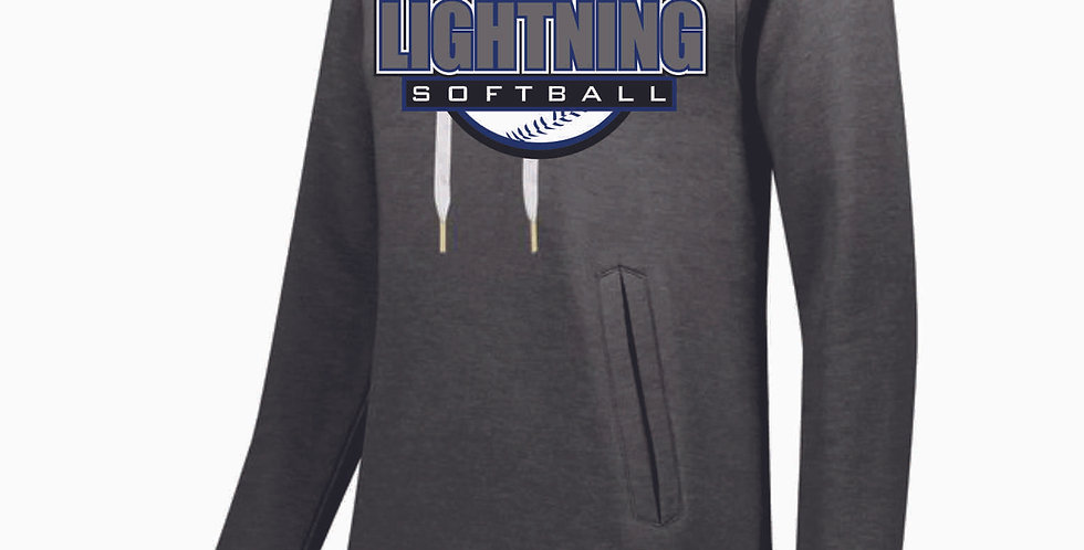 Lightning Grey Ladies Hoody