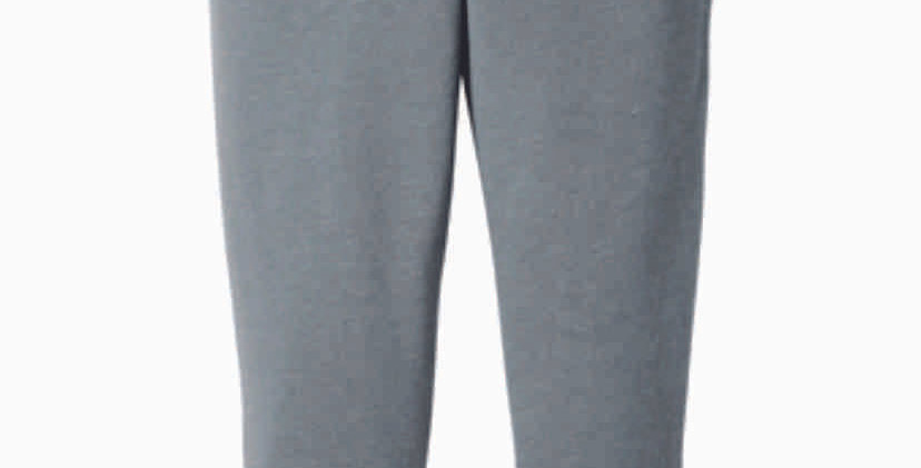 NC Volleyball Grey Bella Canvas Jogger