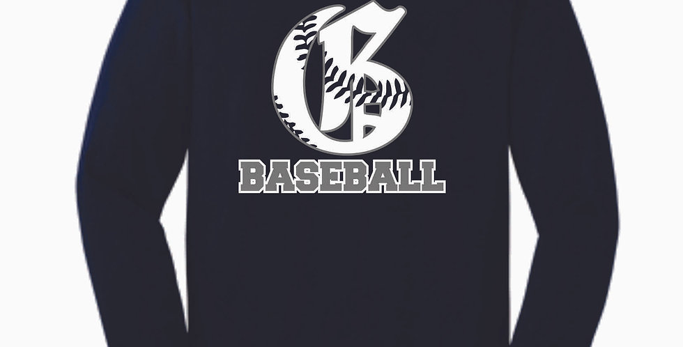 Granville Baseball Navy Cotton Longsleeve