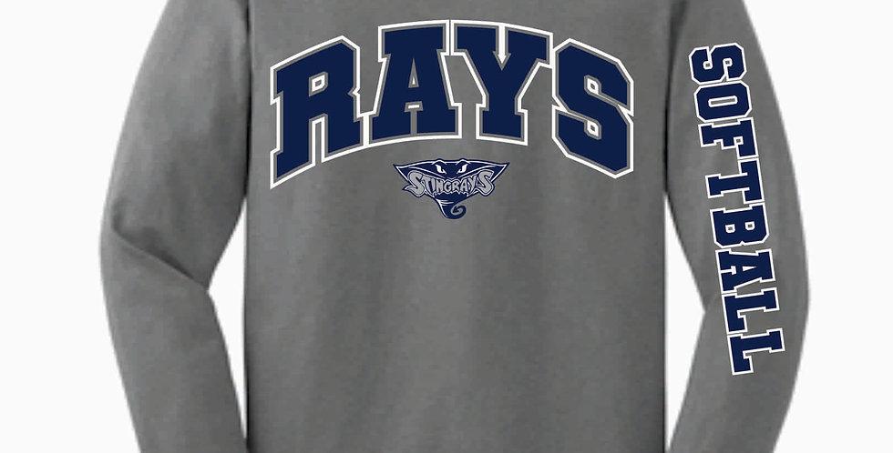Rays Longsleeve Cotton T shirt