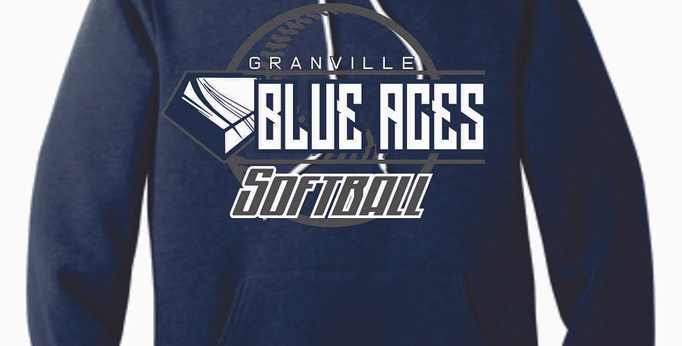Granville Softball Canvas Navy Hood