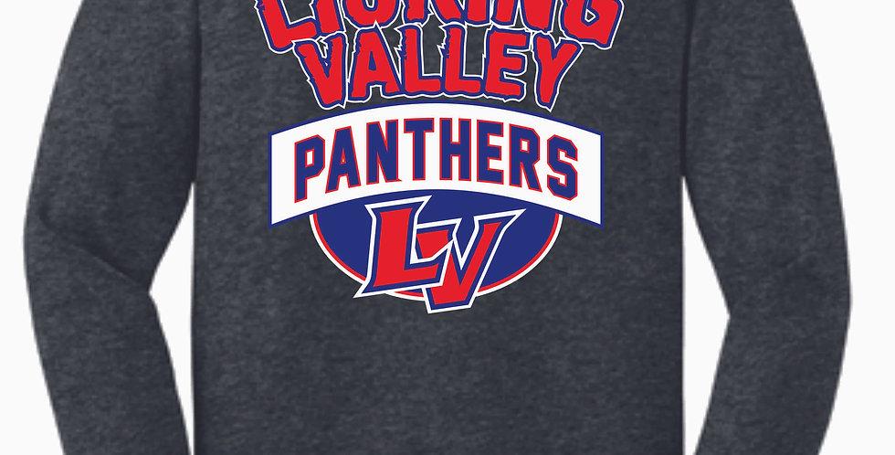Licking Valley Dk Grey Longsleeve T Shirt