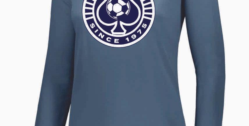 Granville Soccer Women's Grey Dri Fit Longleeve
