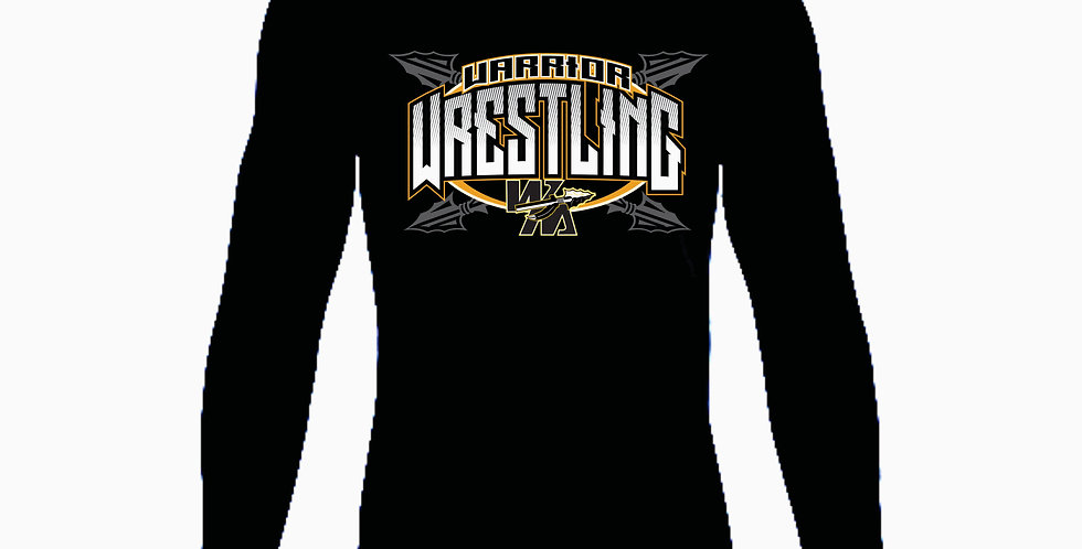 Watkins High School Wrestling Under Armour Black Dri Fit Longsleeve