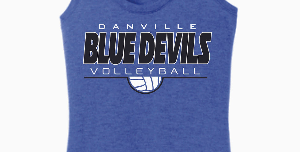 Danville Volleyball Royal Simple Women's Tank