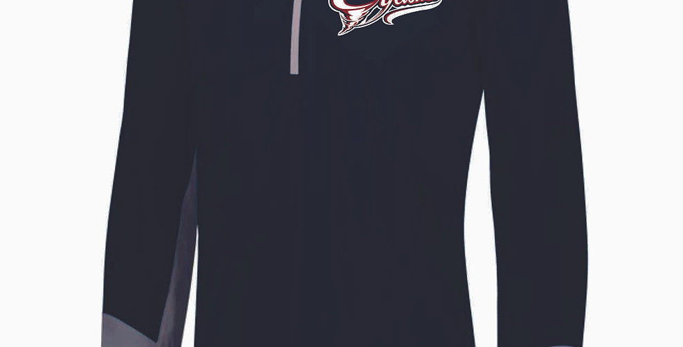 Cyclones Baseball Navy Russell 1/4 Zip Pullover