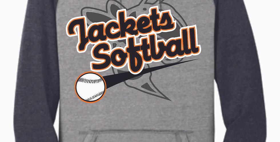 Mount Vernon Softball Two Toned Hoody