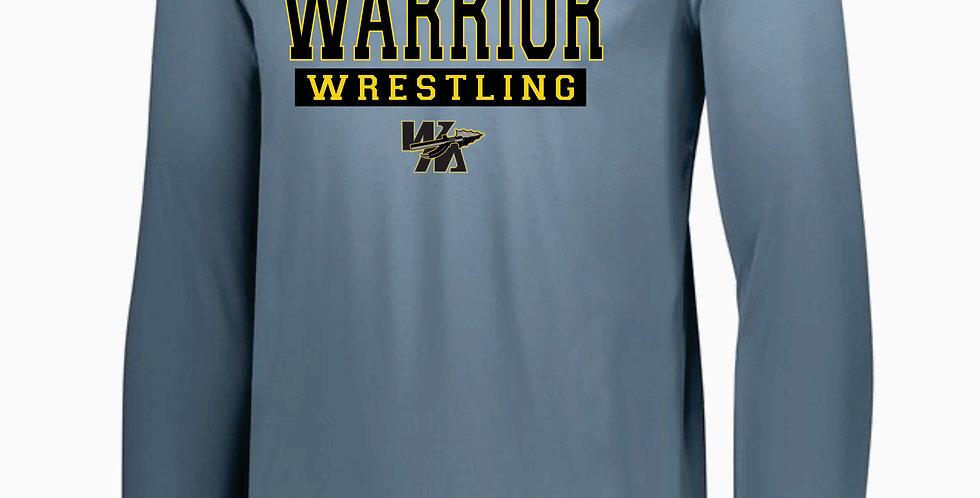 Watkins Youth Wrestling Grey Dri Fit Longsleeve