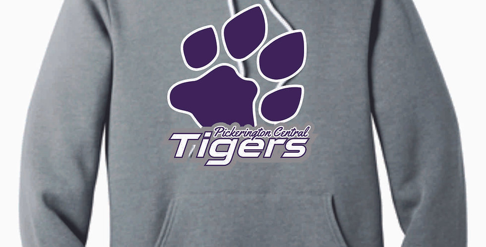 Tiger Paw Print Soft Cotton Hood