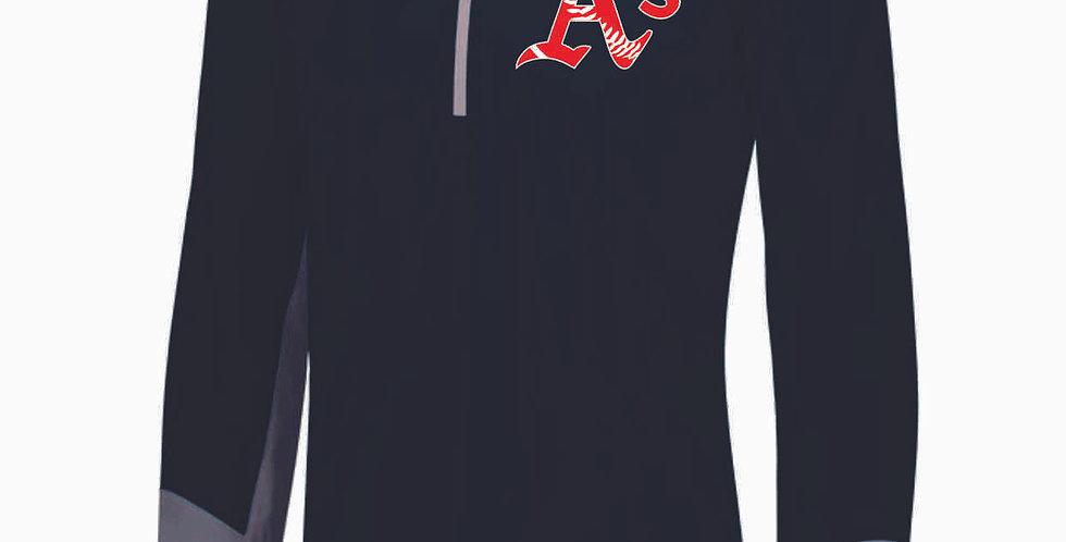 A's Baseball 1/4 Zip Pullover