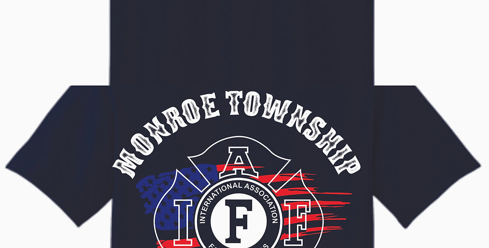 Monroe Flag Cotton T Shirt