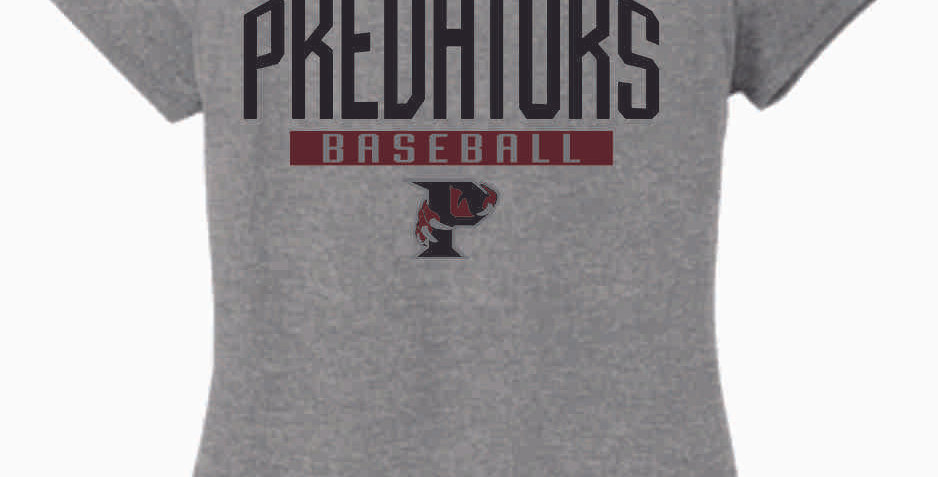 Predators Grey Women's T Shirt