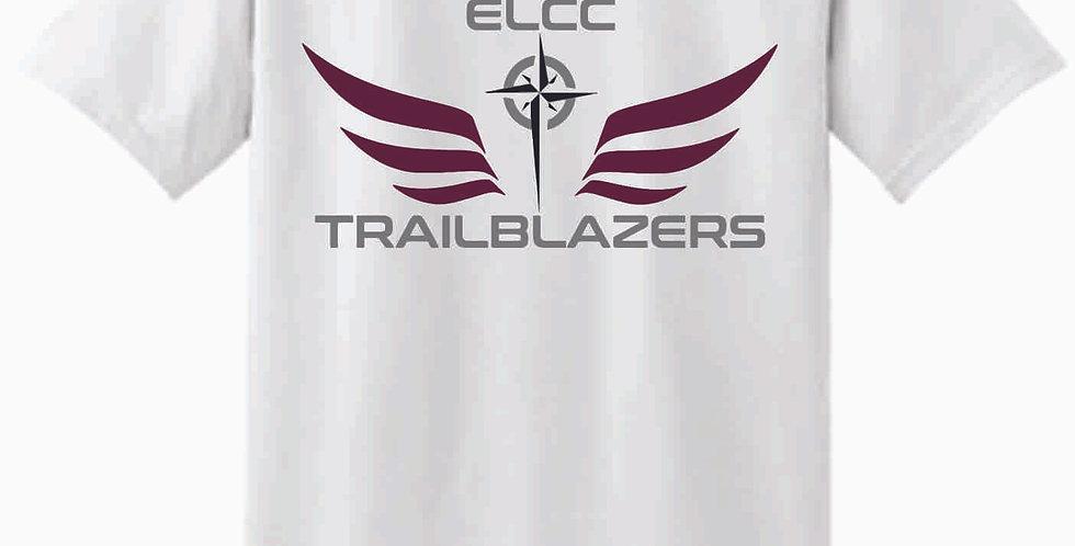 ELCC Basketball White T Shirt