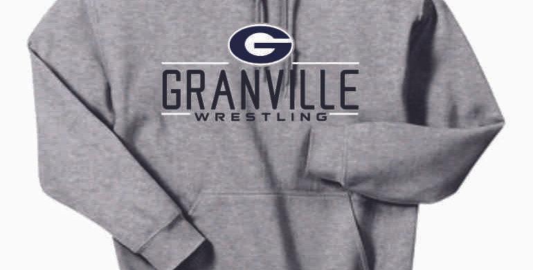 Granville Wrestling Grey Cotton Hoody