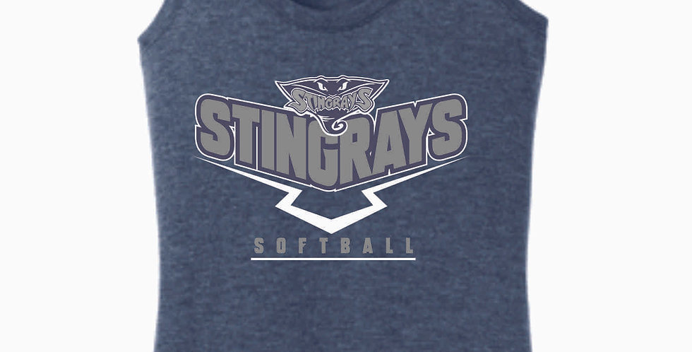 Stingrays Navy Women's Tank