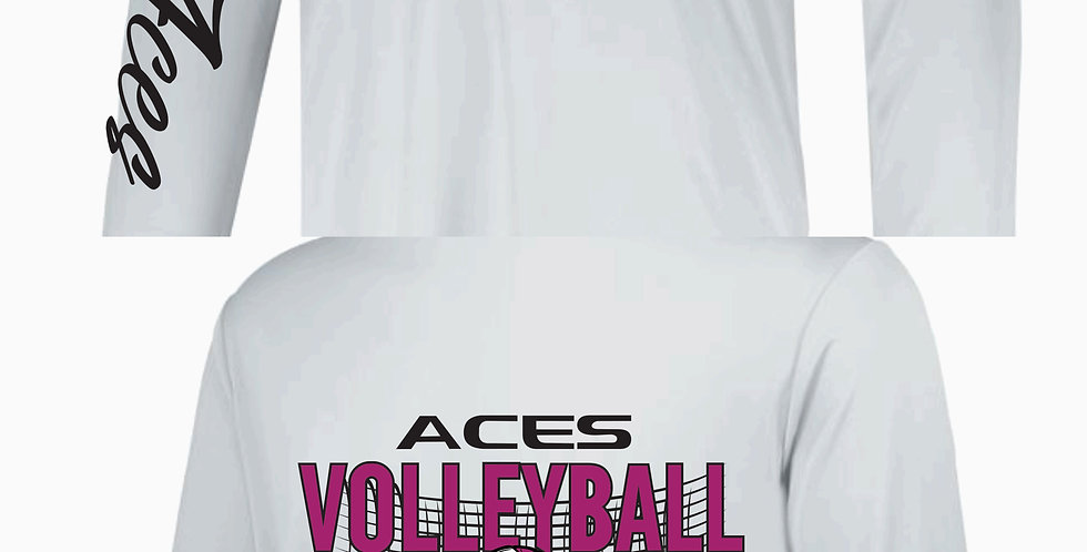 Aces Volleyball Warmup Augusta Long Sleeve Dri Fit