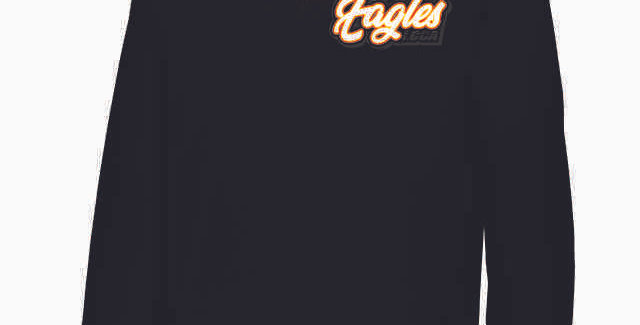 LCCA Black 1/4 Zip Cotton Pullover
