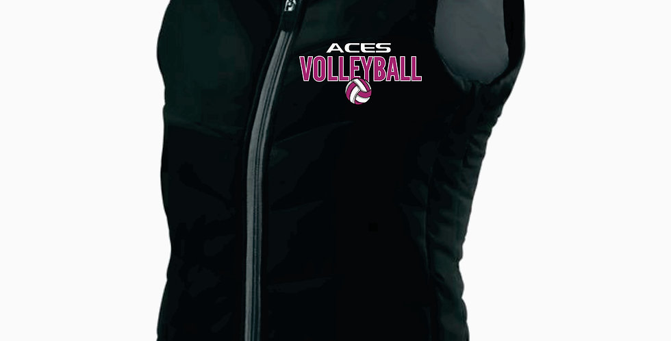 Aces Volleyball Holloway Ladies Black Admire Vest