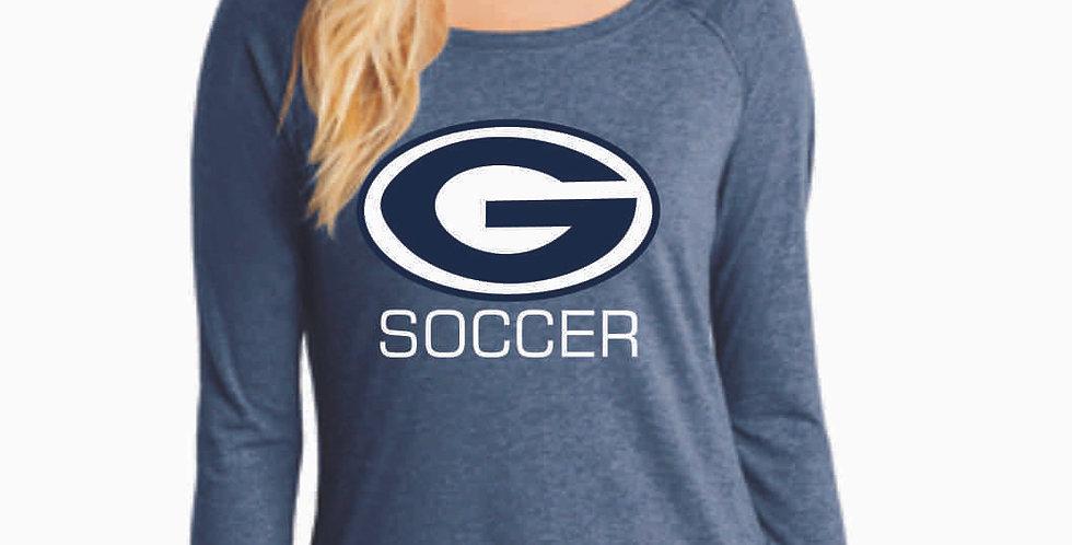 Granville Soccer Navy  Ladies Longsleeve