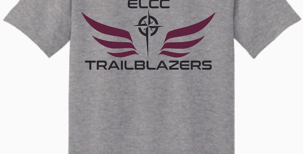 ELCC Basketball Sport Grey T Shirt