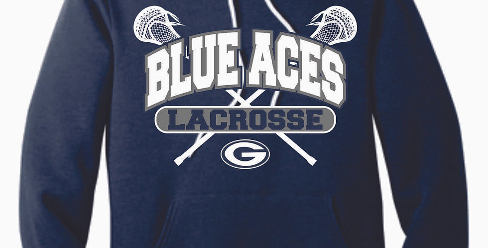 Granville Lacrosse Canvas Navy Hood