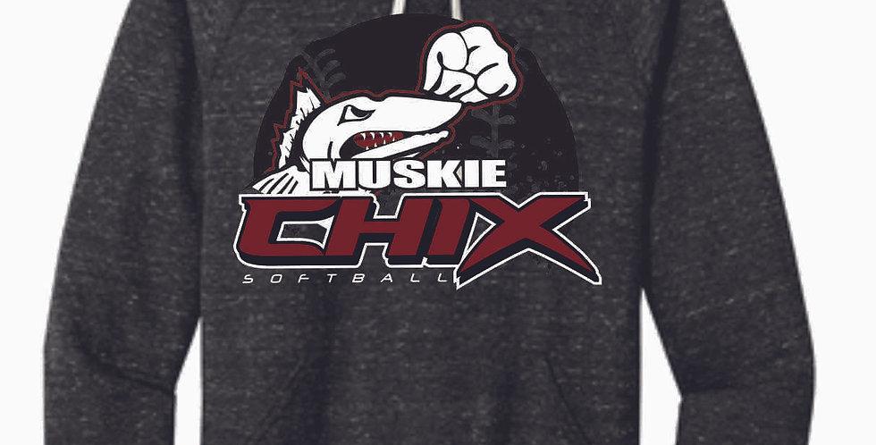 Muskie Chix Black Soft Vintage Hood