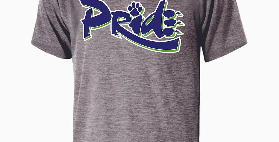 Pride Grey Shortsleeve Dri Fit