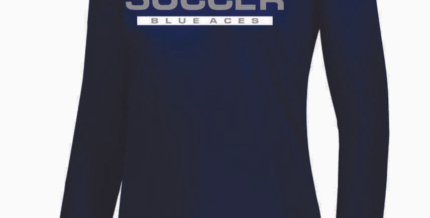 Granville Soccer Women's Navy Dri Fit Longleeve