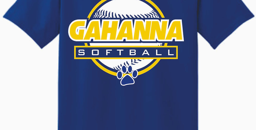 Gahanna Royal Cotton T Shirt