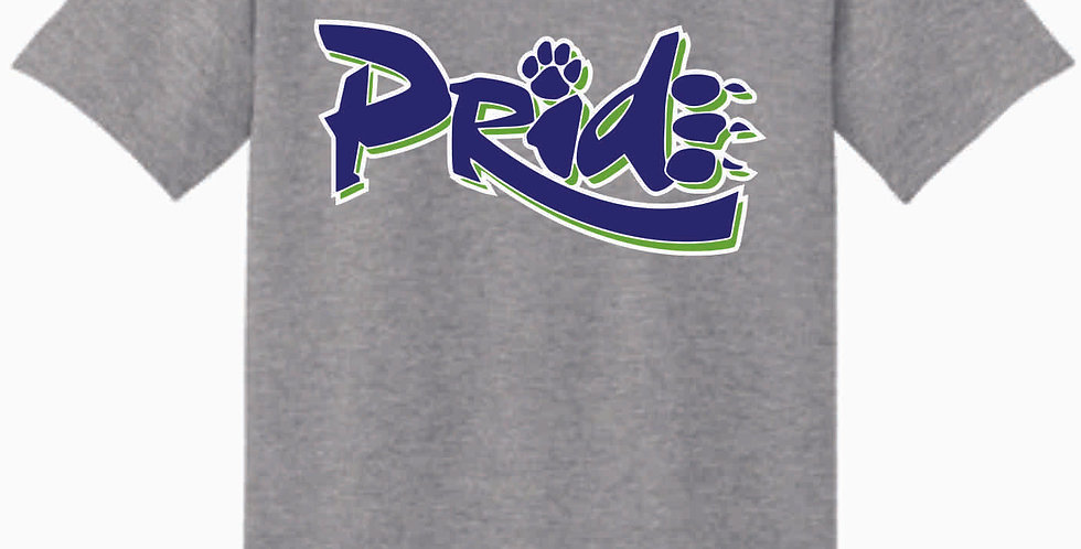 Pride Sport Grey Cotton T Shirt