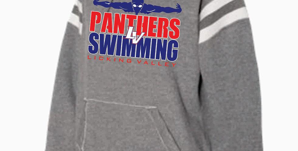 Licking Valley Swimming Grey J America Grey Script Simple Hood